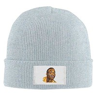Yung Jake's Emoji Portrait Of Gucci Mane Beanie Hat Winter Hats Hipster Beanie