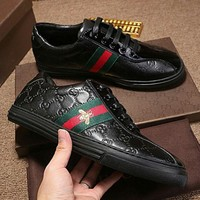 Gucci Trending Women Men Low-Help Flat Sport Shoes I