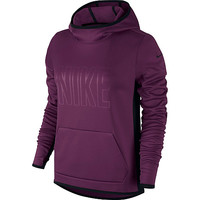 Nike Women's All Time Tech Graphic Pullover Training Hoodie