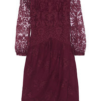 Burberry Prorsum - Embroidered tulle dress