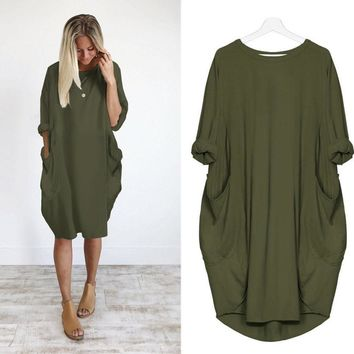 Plus Size ladies dress