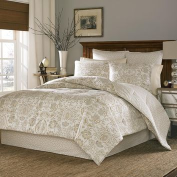 Stone Cottage Belvedere 100-percent Cotton Sateen Duvet Cover Set with Euro Sham Separates | Overstock.com Shopping - The Best Deals on Duvet Covers