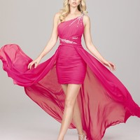 Cheap 2012 Cocktail Dresses - 2012 Sweet Short One Shoulder Neck Mini-length Beading Allure Prom Dresses A524 - Prom & Quinceanera Dress