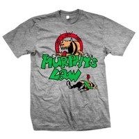 """MURPHY'S LAW """"Tanked"""" Heather Gray T-Shirt"""