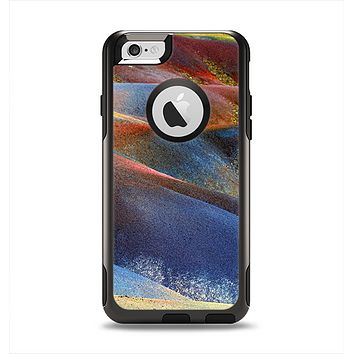 The Multicolored Slate Apple iPhone 6 Otterbox Commuter Case Skin Set