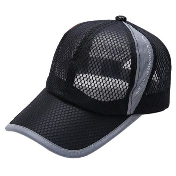 Summer Breathable Mesh Baseball Cap Men Women Hats Drop Shipping High Quality WOct28 Drop Shipping