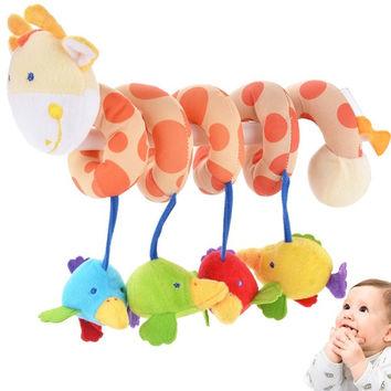 Baby Infant Boy and Girls Crib Plush Soft Stuffed Toys Hanging Windbell Rattles 7_S = 1916463556