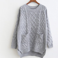 FASHION POCKET SWEATER