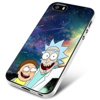 Rick And Morty in Nebula 2 iPhone 5 | 5S | 5SE Case Planetscase.com