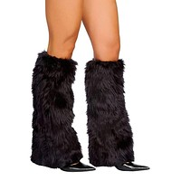 Roma Costume C121 Fur Leg Warmer