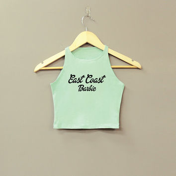West Coast Barbie or East Cast Barbie crop top by Cake Life®