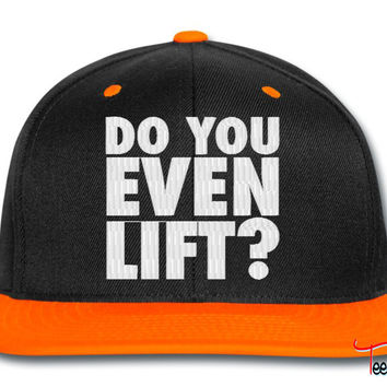 DO YOU EVEN LIFT_GREEN AND snapback