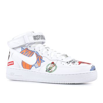 "AIR FORCE 1 MID '07 / SUPREME ""SUPREME"" WHITE"