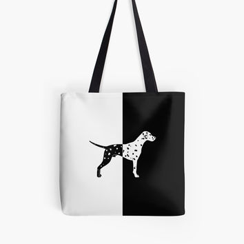 'Dalmatian dog' Tote Bag by ValentinaHramov