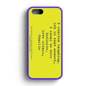 Perks Of Being A Wallflower  iPhone 5 Case iPhone 5s Case iPhone 5c Case