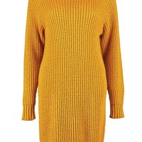 Soft Knit Jumper Dress | Boohoo