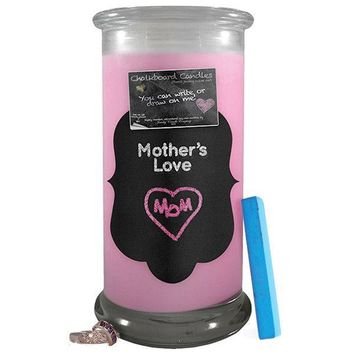 Mother's Love | Chalkboard Candle