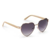 Aeropostale  Heart Dot Sunglasses