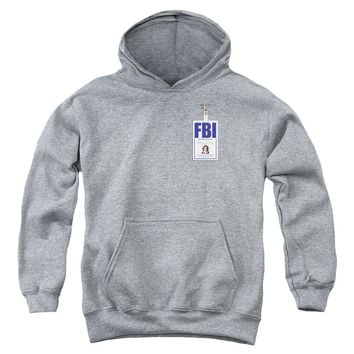 X Files - Scully Badge Youth Pull Over Hoodie