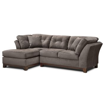 Solace Gray II 2 Pc. Sectional (Alternate)