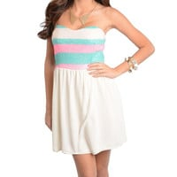 SWEET AS CANDY CHIFFON DRESS