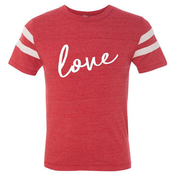 Love - Valentines Day Tee - Ruffles with Love - RWL