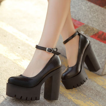 Free shipping 2016 new spring autumn casual high-heeled shoes sexy