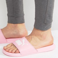 Puma Popcat Sliders In Pink 36026516 at asos.com