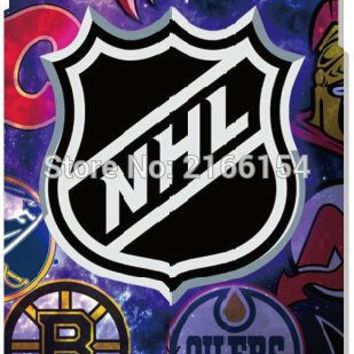 NHL Logo Cover For iphone X 4 4S 5 5S SE 5C 6 6S 7 8 Plus For iPod Touch 5 6 Hard Phone Case Capa Coque Shell Fundas Bumper
