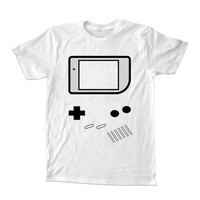 Game Boy  For T-shirt Unisex Adults size S-2XL Black and White