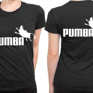 The Lion King Pumba 2 Sided Womens T Shirt