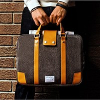 Hamptons Briefcase by Venque - $119
