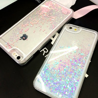 Liquid Glitter Phone Case phone