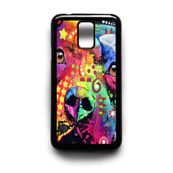 Bella Pitbull Samsung Galaxy S3 S4 S5 Note 2 3 4 HTC One M7 M8 Case