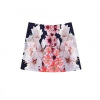 Mini Skirt Navy Blossom