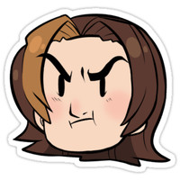 'Arin' Sticker by zibeline