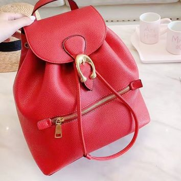Coach hot seller of women's casual shopping bag with fashionable printing and color stitching backpacks #5