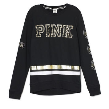 Perfect High/Low Crew - PINK - Victoria's Secret