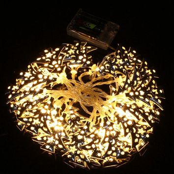 Mising 300CM 30 LED String Light Christmas Tree Party Wedding Garden LED String Fairy Lamp Battery Operated DC4.5V