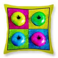 Pop Art Apples by Shawna Rowe