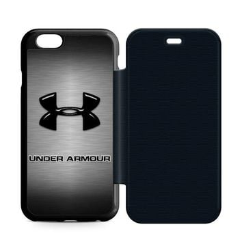 Under Armour Logo Leather Wallet Flip Case iPhone 6 | 6S