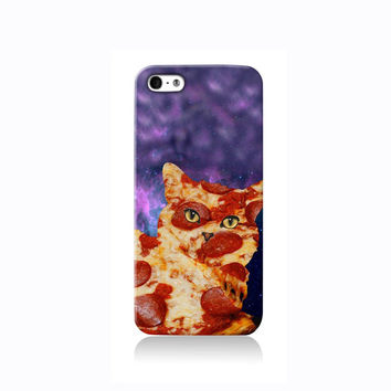 Trippy Pizza Cat iPhone case, Galaxy S3 Case, iPhone 6 case, iPhone 4 case iPhone 4s case, iPhone 5 case 5s case and 5c case