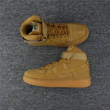 Nike Air Force 1 Wheat Suede Sneaker US5.5-13 8ceaad8a95