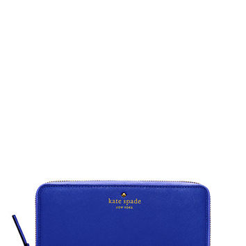 Kate Spade Cedar Street Lacey Bright Lapis ONE