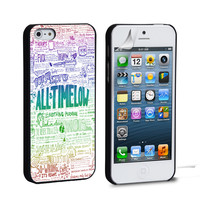 All Time Low Art Quotes iPhone 4 5 6 Samsung Galaxy S3 4 5 6 iPod Touch 4 5 HTC One M7 8 Case
