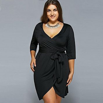 Plus Size Women Clothing 2018 Summer Dress Big Size Bodycon Bandage Dress 6XL Black Women Dress 5XL Party Dresses Vestidos