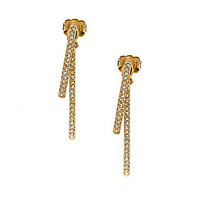 Nadri Inc. Items Bar Linear Earrings