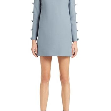 Valentino Bow Detail Crepe Couture Dress | Nordstrom