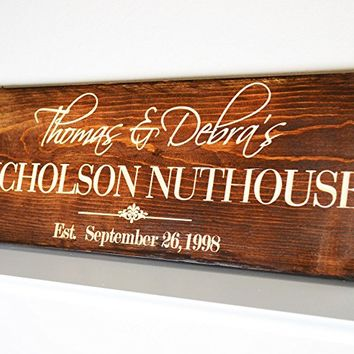 Family Name Sign Wood | Last Name Sign Family Establish | Last Name Art | Last Name Wood Sign | Last Name Established Sign | Last Name Gift .sign#215