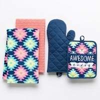 Simple by Design 4-pc. ''Be Awesome Today'' Kitchen Towel Set